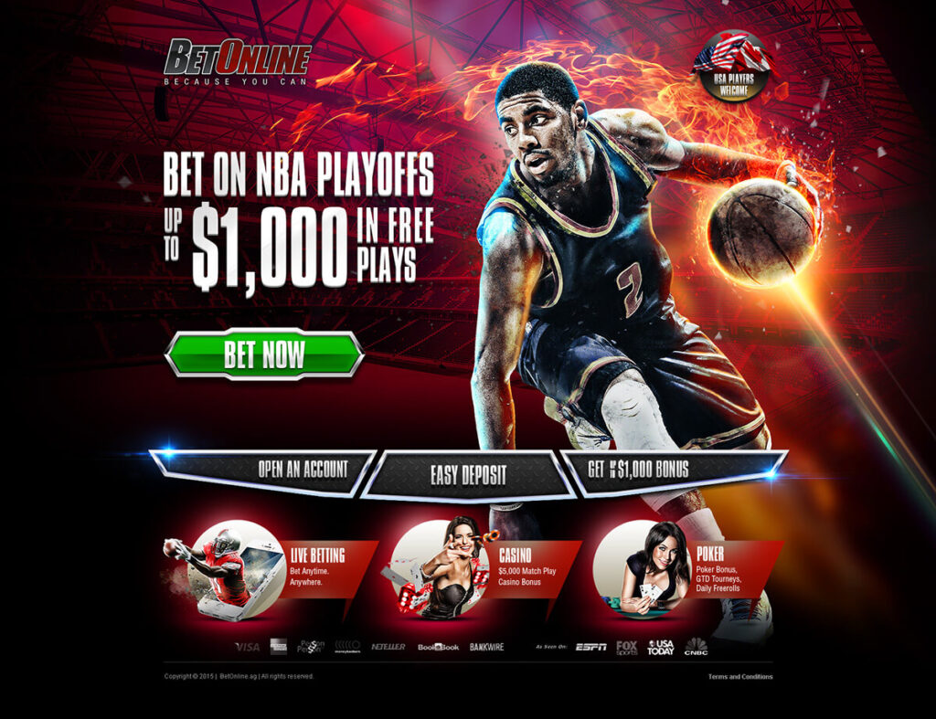 Sports betting pages
